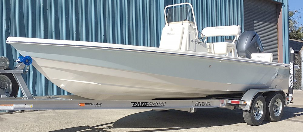 New  2017 22' Pathfinder 2200-trs Bay Boat